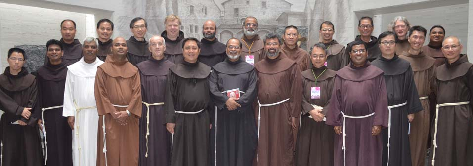 Combined meeting of the Franciscan ministers