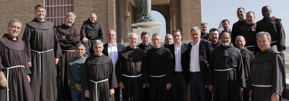 MZF – Meeting with the offices of the general curia OFM