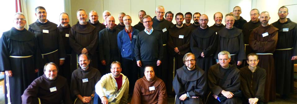 Gathering of OFM Secretaries of Formation of the COTAF