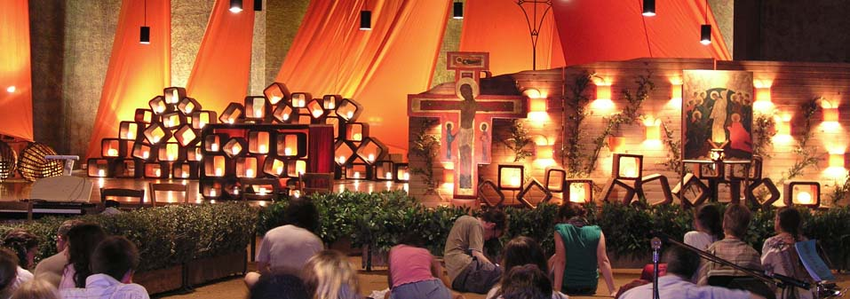 Communication – Young religious gathering at Taizé