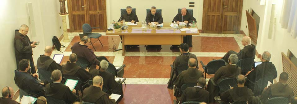 Annual Meeting of the Minister General with new Ministers Provincials and Custodes