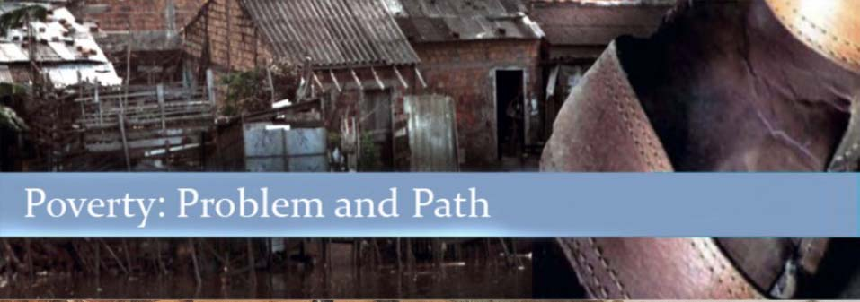 Conference on 'Poverty: Problem and Path' in Utrecht