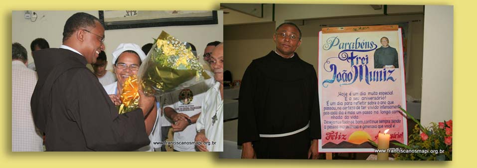 The Holy Father appointed Fr. Joao Muniz Alves, OFM as bishop prelate of Xingu