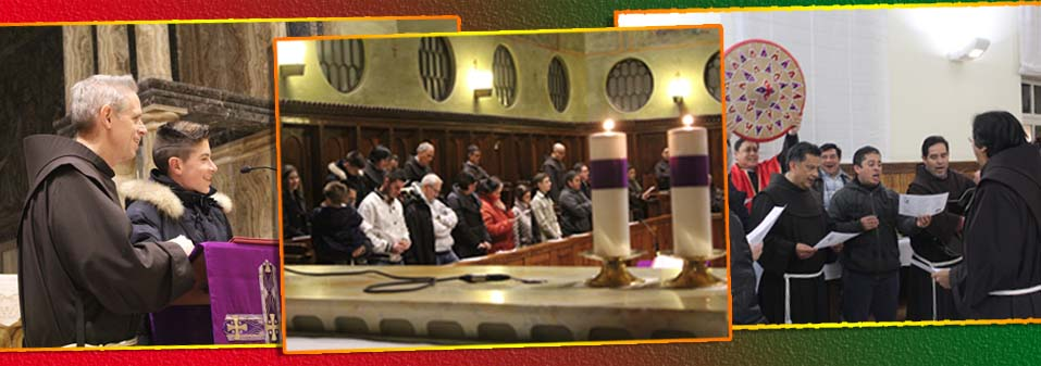 Christmas Greetings from the Fraternity of the OFM General Curia