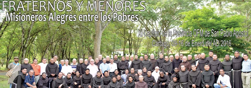 Visit of the Minister General to the Province of St. Paul the Apostle, Colombia