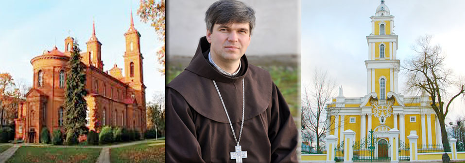 Br. Genadijus Linas V., OFM, Nominated Bishop of Panevezys (Lithuania).