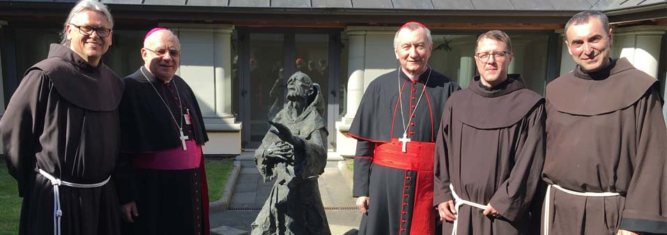 Franciscans in Lithuania Welcome Cardinal Parolin