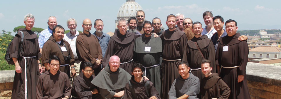 Young Friars participate in Study Pilgrimage in preparation for Solemn Profession