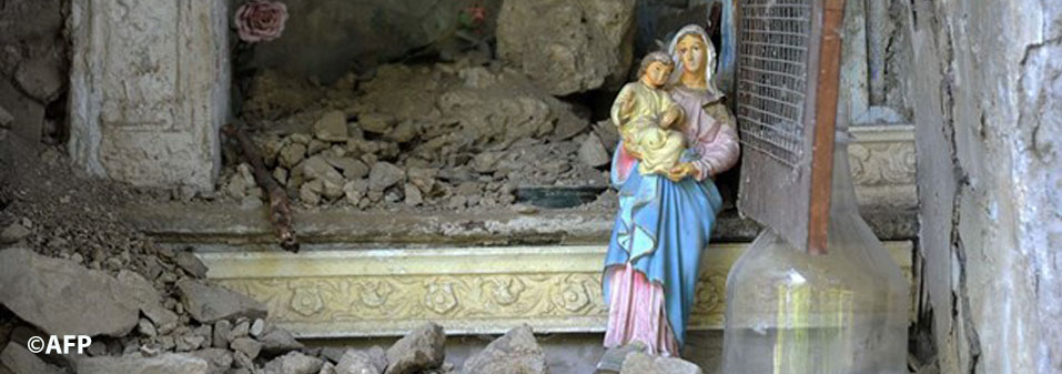 Spiritual Solidarity: a message to the victims of the earthquake in Central Italy