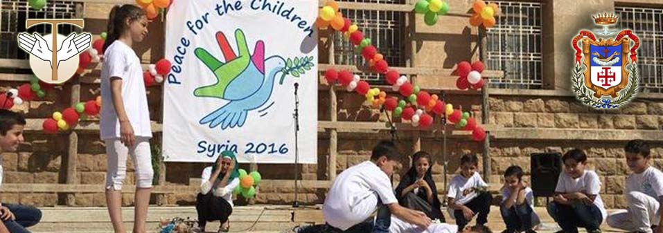 Children praying for peace: Letter from the Minister General and from the Custos of the Holy Land
