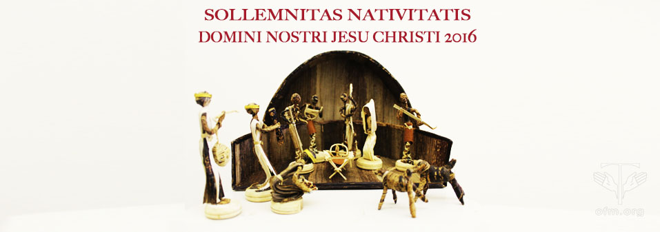 Christmas Letter of the Minister General 2016