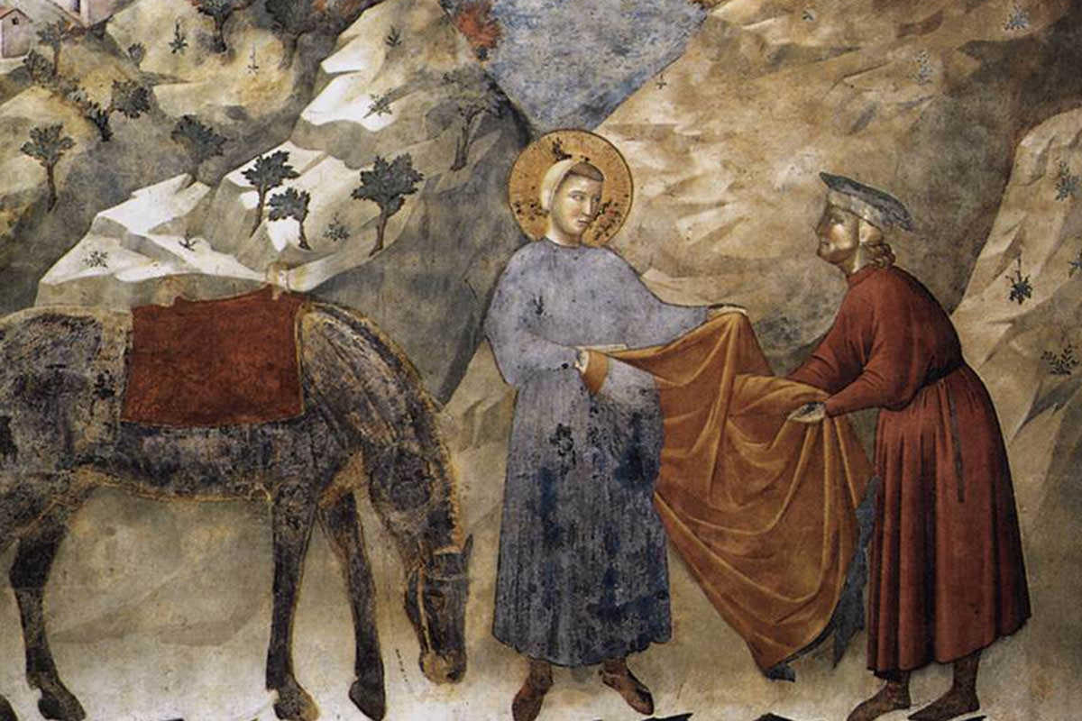 st-francis-giving-his-mantle-to-a-poor-man-1299